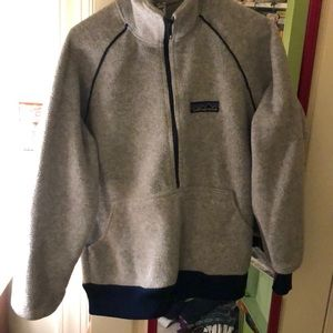 Vintage gray Patagonia from 80's